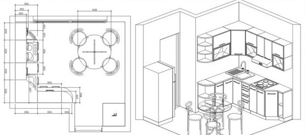 подсчет кухонь в программе ремонт дома