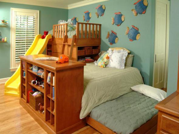 Как разместиться семье с двумя детьми в однокомнатной квартире в 44 97