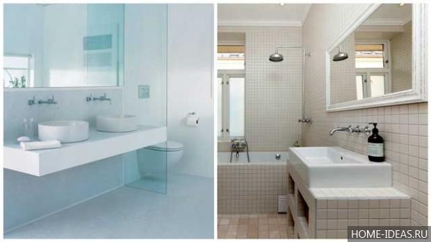 Badkamertegels Felle Kleuren : Wat voor soort tegel is in de mode voor een badkamer. gebruik van
