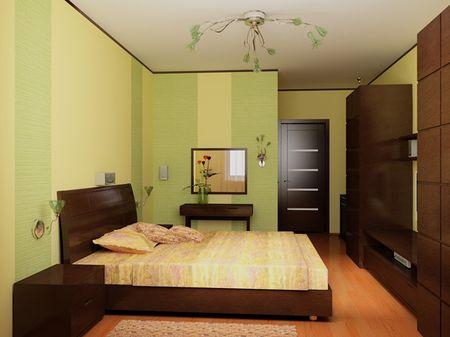 Потолки из гипсокартона для спальни (80) 65