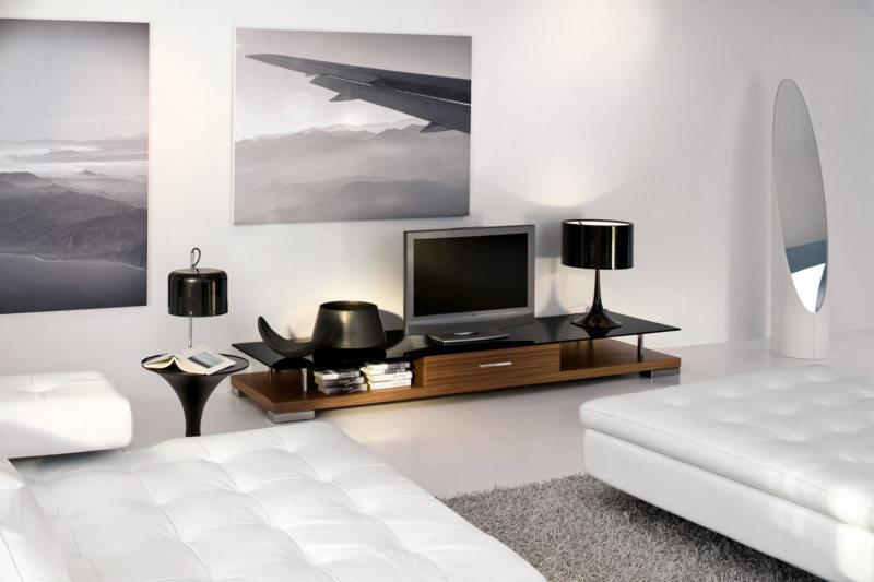 Woonkamer Slaapkamer Combinatie : Ontwerp van een woonkamer met een slaapkamer ontwerp van een