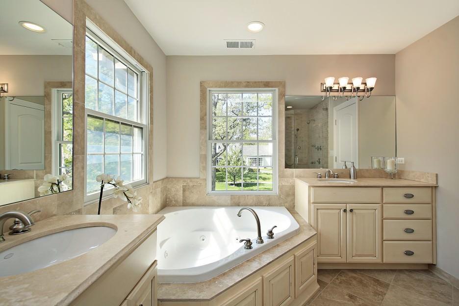 Badkamer Gezellig Maken : Ontwerp een kleine badkamer in beige tinten beige badkamer